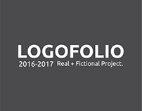 LOGOFOLIO 2016-2017 \\ Real + Fictional Project.