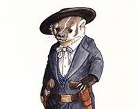 Wild Bill Hickok Badger