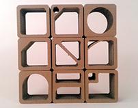 Nowa koncepcja półek z kartonu / New design of cardboar
