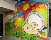Mural for Brightwater