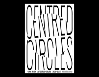 Centred Circles – visual concept, poster design