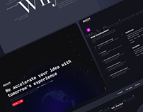 Landing Page For Dev Studio