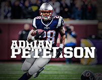 Adrian Peterson Jersey Swap- New England Patriots