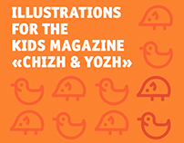 Illustrations for the kids magazine