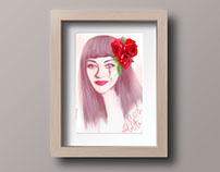 Mon Laferte portrait