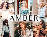 Free Amber Mobile & Desktop Lightroom Presets