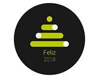 Feliz 2018. Happy 2018