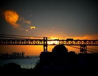 Lisboa por do sol