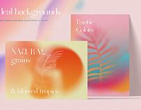 Tropical Gradient Backgrounds,Textures