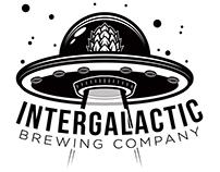 "Intergalactic Brewing Company - ""Hoppy Saucer"""