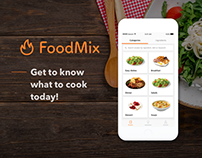FoodMix - Cooking App