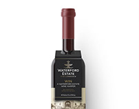 Waterford Estate: Bottle Neck label Design