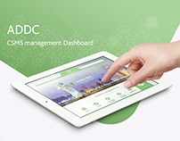 ADDC CSMS management Dashboard