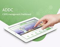ADDC CSMS management Dashboard