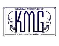 """Logo créé pour KRYSTAL MUSIC GROUP """"KMG"""". 2015"""