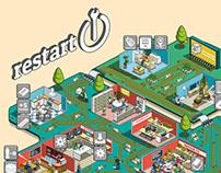 Electronics Utopia Illustration: The Restart Project