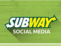 Subway - Social Media