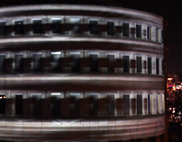 Whirling Building  /  Projection Mapping