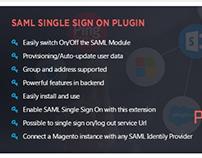 SAML Single Sign On Magento Extension