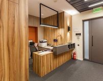 Шикарный офис в Киеве, выполнен нашими специалистами