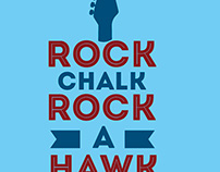 KU Rock-A-Hawk Design