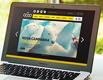 CCGO - Clube de Criação de Goiás / Site