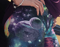 Handmade Galaxy Leggings