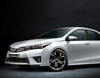 Toyota Corolla TRD - 3D CGI