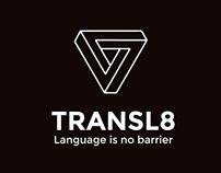 Transl8 Branding and Logo