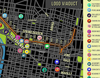 Viaduct Map and icons