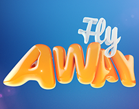 // Fly Away 3D Text \\