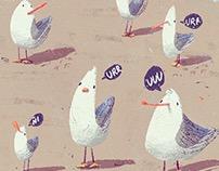 Seagulls!!