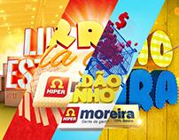 Selos de campanhas Hiper Moreira