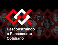 TEDx UNESP Bauru 2018 - Campaign Visual Identity