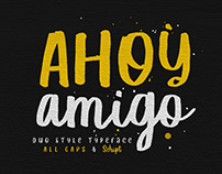 Ahoy Amigo - Duo Fonts