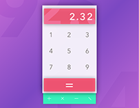 Daily UI - Day 13: Calculator