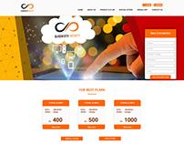 Brodband Service Website