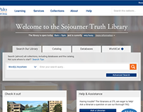 Sojourner Truth Library | Website Design