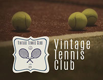 Tennis Club Advertising Kit