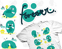 T-SHIRT: Forever, BluzeStore