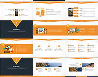 30+ yellow annual report PowerPoint templates download