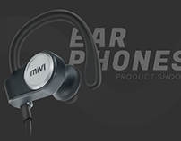 Ear Phones Product Shoot