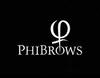 """Phibrows"" Logomotion."