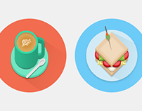 Icons #4 : Foodie