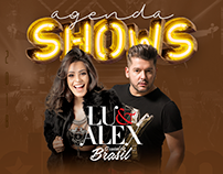 Lu & Alex | Agenda de Shows 2018