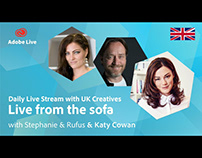 Adobe Live from the sofa UK with Katy Cowan