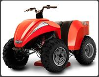 Lawnmower Utility Vehicle Hybrid Concept