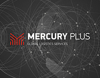 MERCURY. Global Logistics Services.  Branding.
