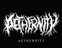 AETHERNITY - Fictional Logo
