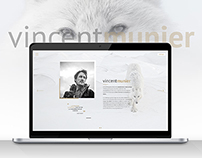 Vincent Munier - Webdesign